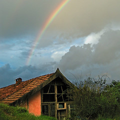 Rainbow and Dining Hall - Matutu 2006