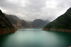 The buried deep (~mohsentaleb) Tags: green pond iran cloudy dam deep izeh karoun3 karounriver