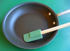 Mini frying pan & mini spatula