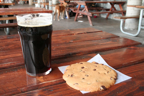 Beer and Cookie