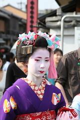 maiko (ferry.vanderzwan) Tags: japan kyoto maiko minarai mamehana