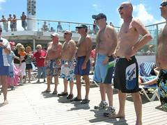 Carnival Cruise Hairy Man Contest