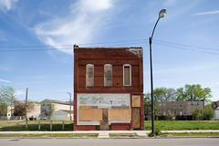 Shuttered Residential Building