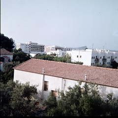 img348 (foundin_a_attic) Tags: 1970s glass slide 77 70s fashion hotel view sea white