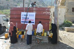 Water Relief in Taiz, Yemen (Ummah Welfare Trust) Tags: yemen taiz aden poverty war hunger children aid islam muslims