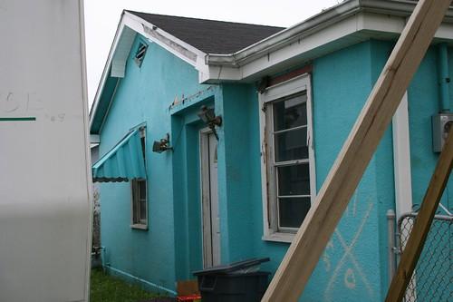 1201 Lamanche St. (5) Facade Behind Trailer