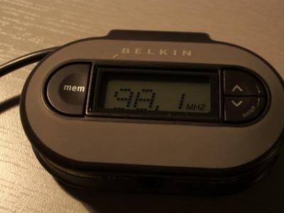 Belkin MP3-Transmitter