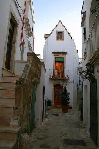 Streets of Locorotondo