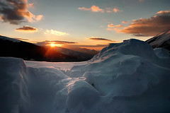 the remaining glaciers (azem) Tags: winter sunset sky sun snow ice nature clouds canon landscape eos bravo azem top20landscape 2007 abigfave superbmasterpiece goldenphotographer theperfectphotographer fshfd fshperendim