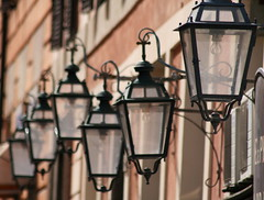 Trastevere Lamps (BrianEden) Tags: travel italy roma italia streetlamps trastevere lamps lazio lamprome