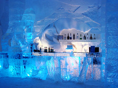 Blue-Bar (Etolane) Tags: blue winter white snow color ice topv111 bar interestingness topv555 topv333 post colorfull hiver topv999 surreal bleu explore neige icy billet icehotel glace glac
