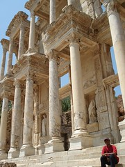 Library Of Celcus, Di Dlm Ephesus, Selcuk, Turkey
