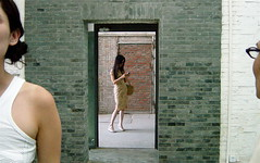 A new frame on this series (aurelio.asiain) Tags: china green girl wall three triangle beijing drama remake peking relation pekn aurelioasiain flickrjobdiff ionushi framonaframe theasiaingallery