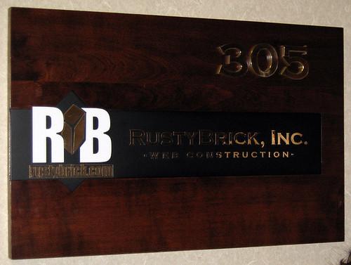 RustyBrick Signage