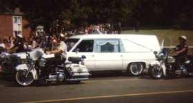 Funeral Elvis Hearse