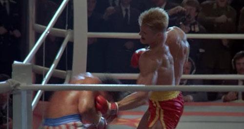 Ivan Drago y Rocky Balboa