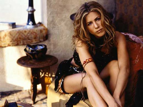 Jennifer Aniston almost in her 40th