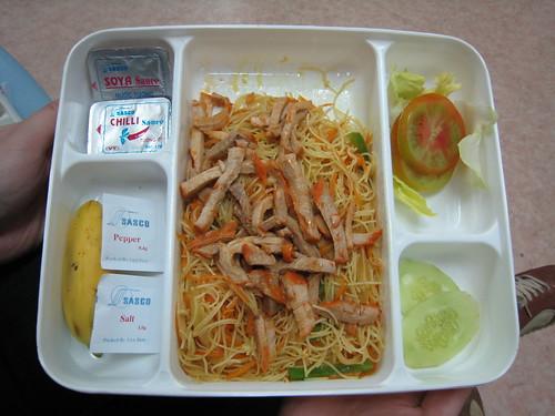 我們在機場吃的午餐...