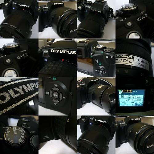 E-500 collage