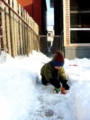 Winter Worker