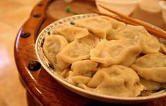 Spring Festival dumplings