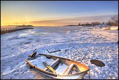 Off Season (mylhainen) Tags: winter pier boat helsinki bravo freezing balticsea february hdr 6exp anawesomeshot superbmasterpiece