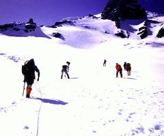Mt. Rainier Assent - by Erik Charlton