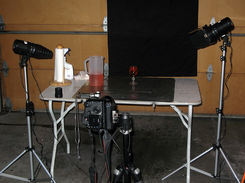 Splash Shot Setup