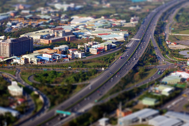 2007.02.23 Taipei 三峽 . 鳶山 (Tilt-Shift Miniature Fake) (by MaxChu)