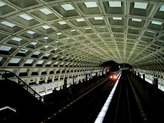 paleo-future metro (trixiebedlam) Tags: washingtondc metro paleofuture
