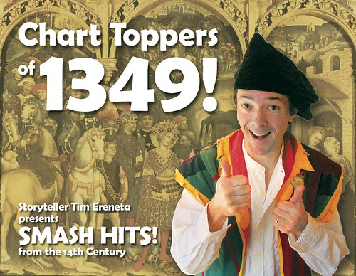 Chart Toppers of 1349 Postcard