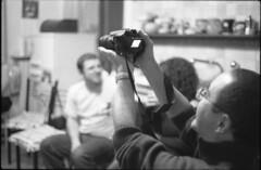 Chez moi #1 (giuli@) Tags: blackandwhite bw film analog dinner geotagged iso3200 50mm lenstagged tmax3200 campania photographer tmax napoli naples shooting 3200 cena zuiko massimo fotografo macchinafotografica olympusom10 yellowpeppers kodaktmax kodaktmax3200 blackandwhitefilm p3200tmz zuiko50mmf18 acasamia giuliarossaphoto geo:lat=40848708 geo:lon=14261209 noawardsplease nolargebannersplease