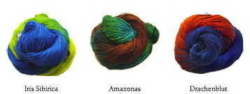 Wollmeise sock yarns