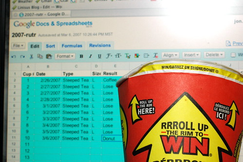 Tim Hortons Roll Up The Rim - #10