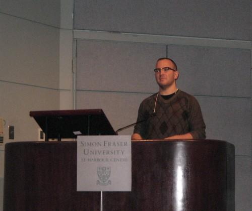 Cory Doctorow at SFU