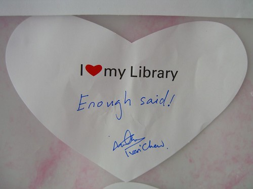 "My Love Note - ""I Love My Library 2007"""