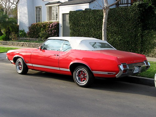 Oldsmobile Cutlass Supreme Convertible. 1971 Oldsmobile Cutlass
