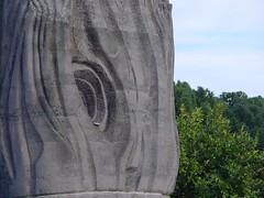 tronco de piedra