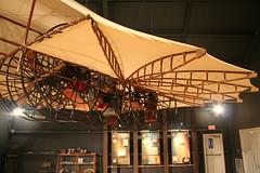 Ezekiel Airship (The Rocketeer) Tags: museum texas flight replica airship pittsburg ezekiel
