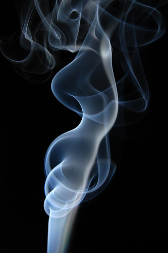 Smokey silhouette by ƒernando.