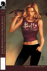 Buffy season 8 issue 1 cover