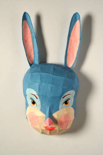 bunny mask for Pomme