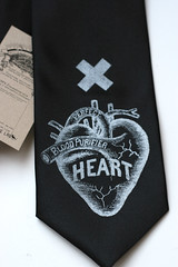 tie014.JPG (Cyberoptix™) Tags: men fashion plane studio design clothing war screenprint heart political politics wwii tie craft b17 antiwar silkscreen catalog bomb bomber necktie commentary productshot lovenote accessory menswear cyberoptix toybreaker innk tielab wasterbased