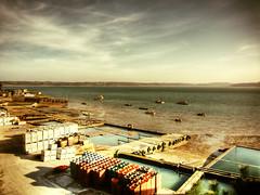 Parc  huitre - Carantec (levercusec) Tags: mer france beach port landscape brittany bretagne breizh bateau hdr hdri 3xp photomatix carantec fx01 levercusec anawesomeshot hdrenfrancais bestofr