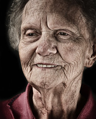 Grandma (Jeff Rinehart  (almost back in action)) Tags: old grandma smile smiling happy lucisart lucis