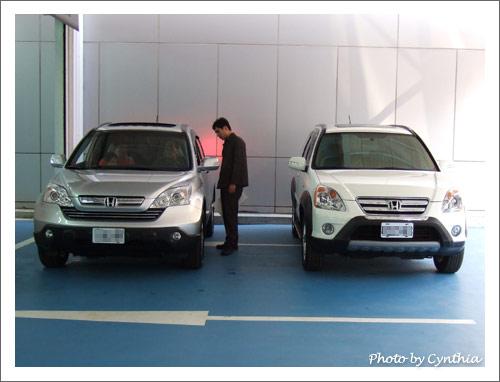 新舊兩代CRV