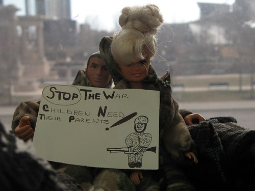 Barbie Protest Art