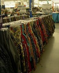 Oriental Fabrics at MJs