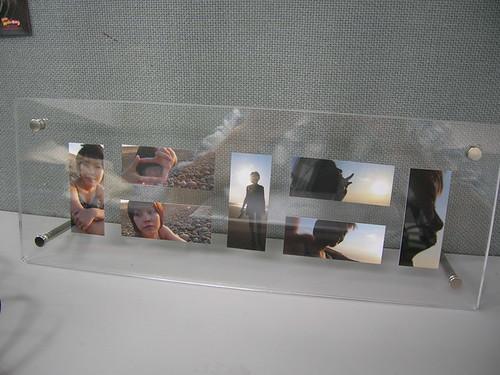 muji acrylic photo frames with moo - Muji Frames
