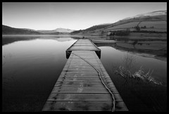 """Ladybower Reservoir (b/w) - by tricky â""""¢"""